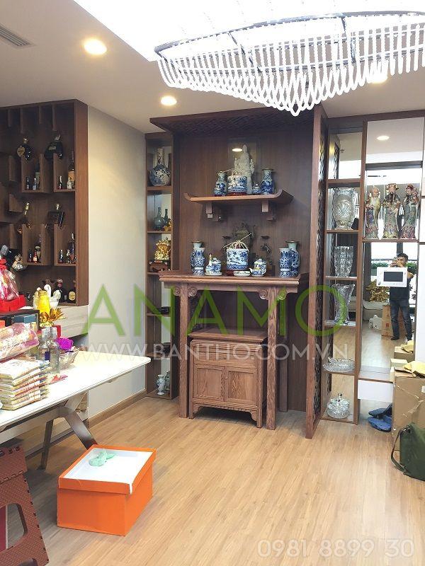 lắp bàn thờ anamo abt 11 cho khách hàng