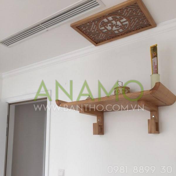 các mẫu bàn thờ treo tường đẹp nhất 2019 13