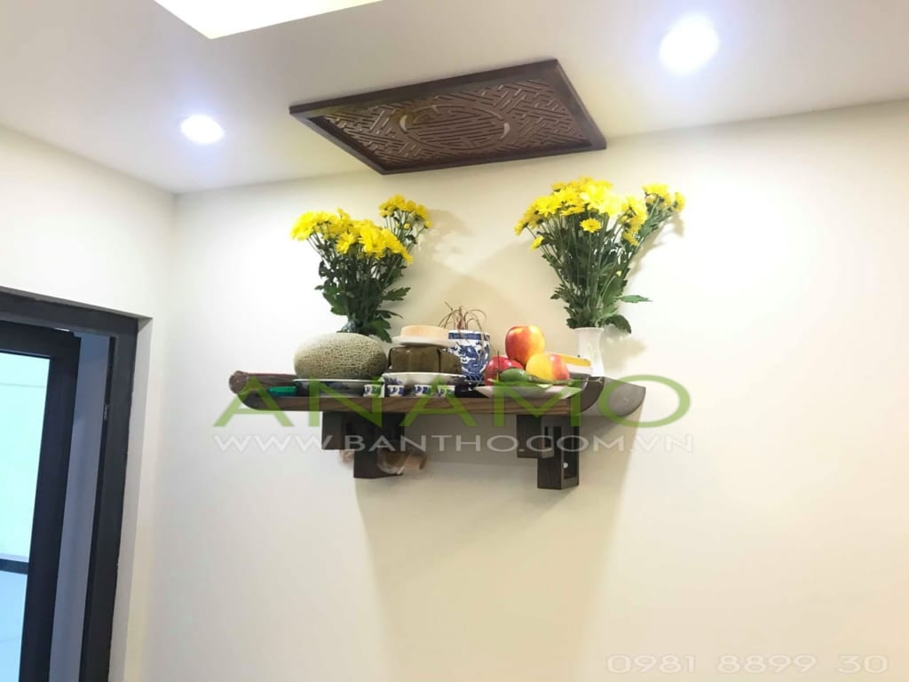 bàn thờ treo tường chung cư ANAMO