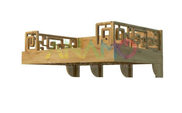 Bàn thờ treo tường hiẹn đại Anamo ABT-36