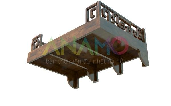 Mẫu Bàn thờ treo tường đẹp Anamo ABT-36