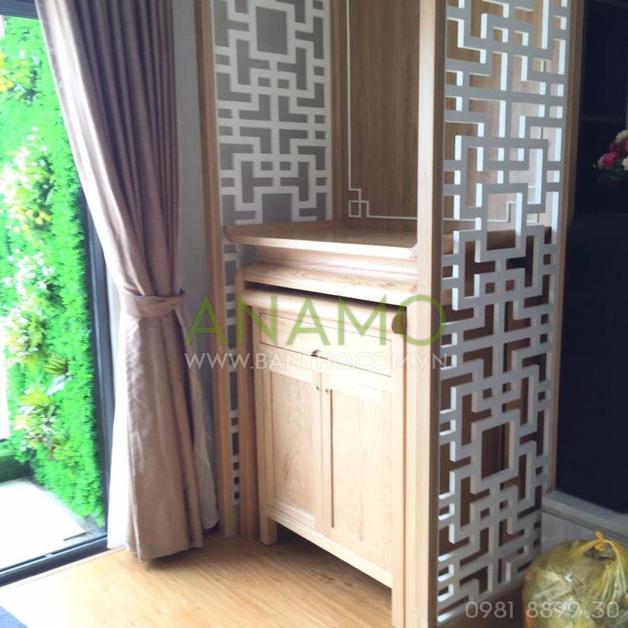 Bàn thờ đứng ANAMO được thiết kế từ những chất liệu cao cấp