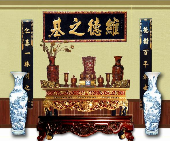 Các mẫu bàn thờ cho nhà chung cư được ưa chuộng hiện nay