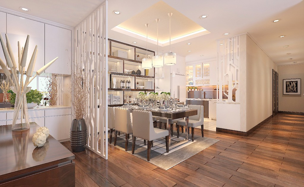 Tư vấn thiết kế nội thất chung cư đẹp Vinhomes Nguyễn Chí Thanh