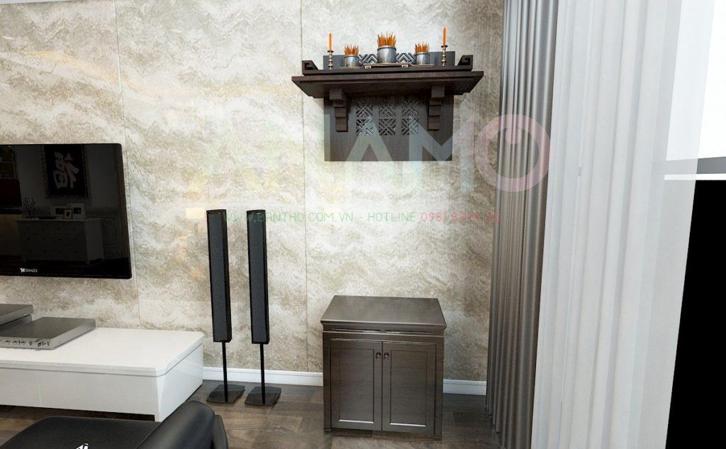 bố trí bàn thờ cho nhà chung cư