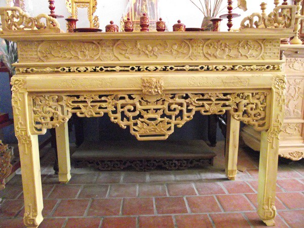 những kiểu bàn thờ đẹp