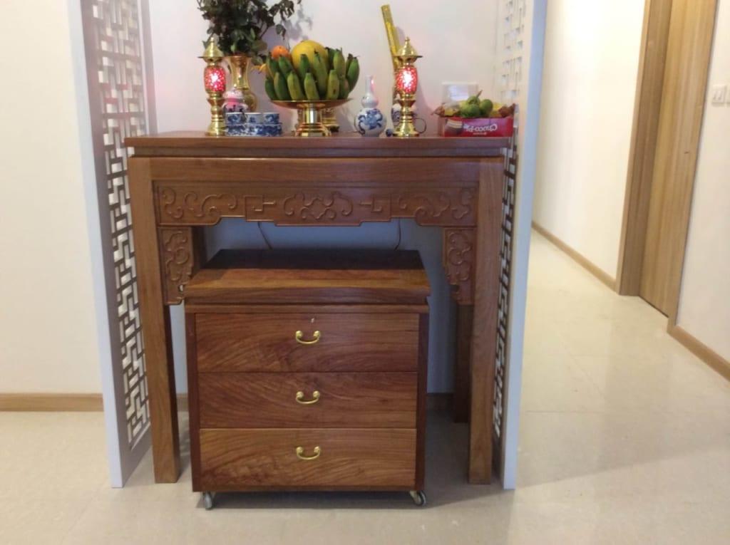 Tiêu chí thiết kế bàn thờ cho chung cư.