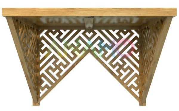 Bàn thờ treo tường gỗ sồi Anamo ABT-10