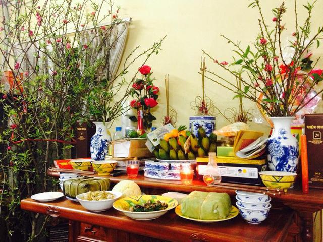 Cách trang trí bàn thờ ngày Tết đẹp cần chú ý những gì ?