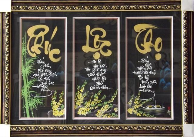Các mẫu tranh treo bàn thờ tổ tiên ưng ý nhất