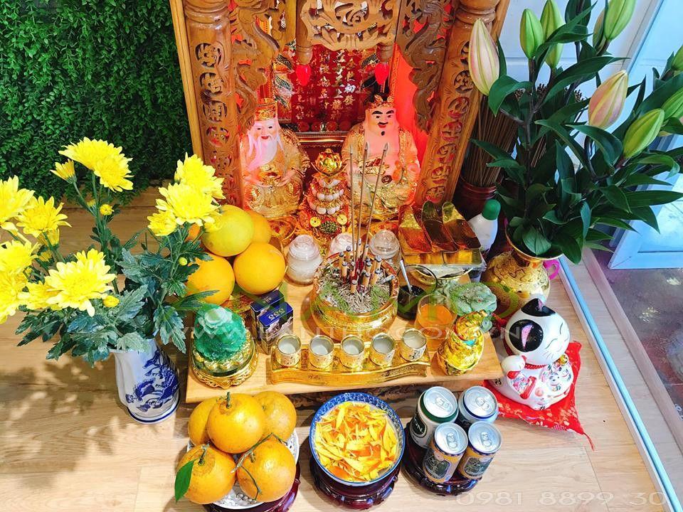Phong thủy bàn thờ ông Táo nhà chung cư.