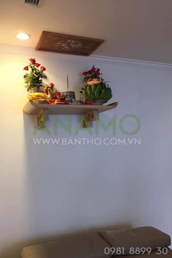 mẫu bàn thờ treo tường đẹp ANAMO