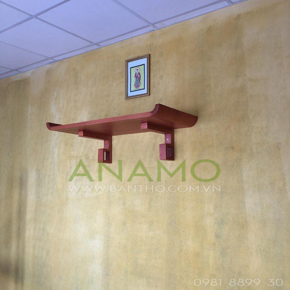 bàn thờ treo tường chung cư hiện đại ANAMO