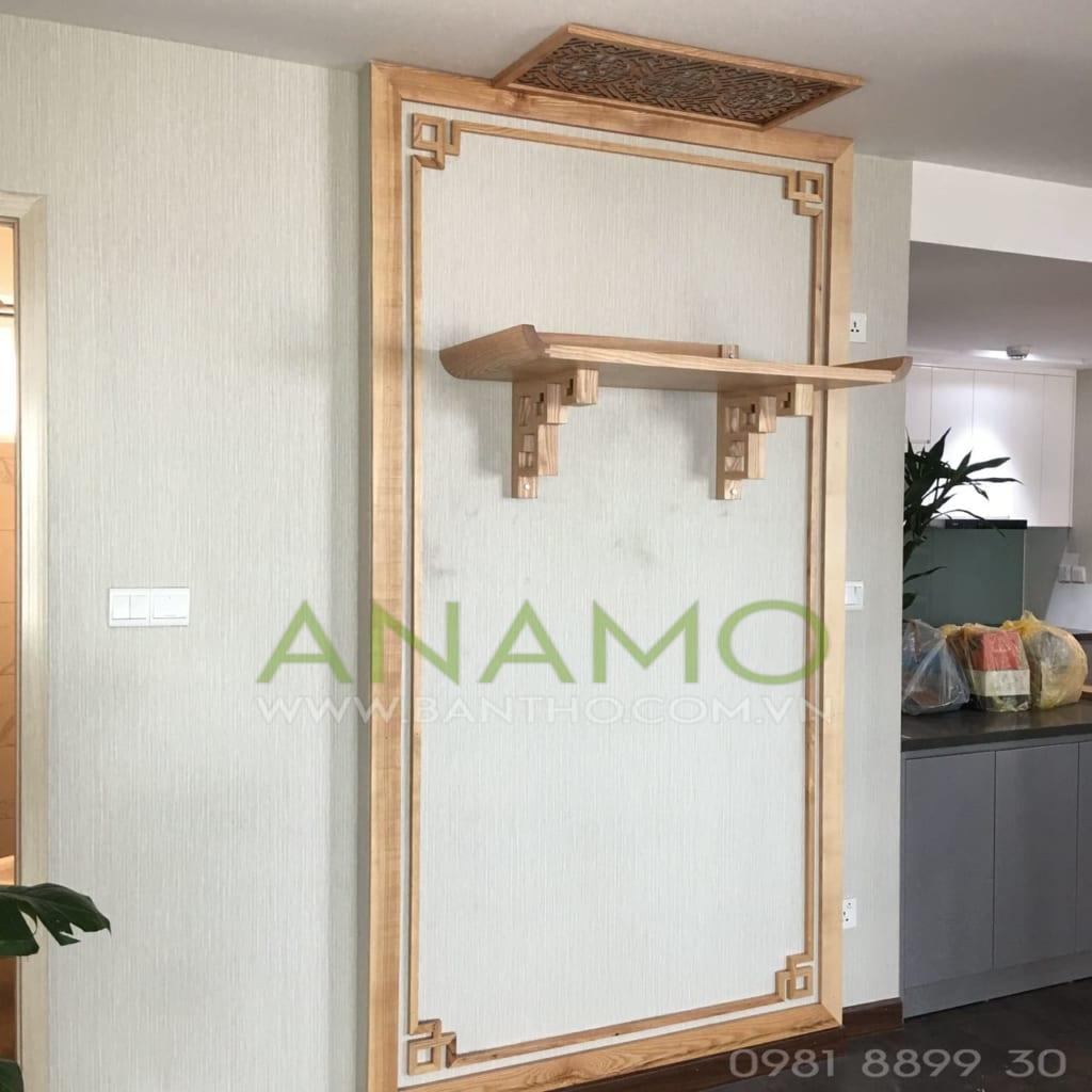 bàn thờ treo tường đẹp của Bàn Thờ ANAMO