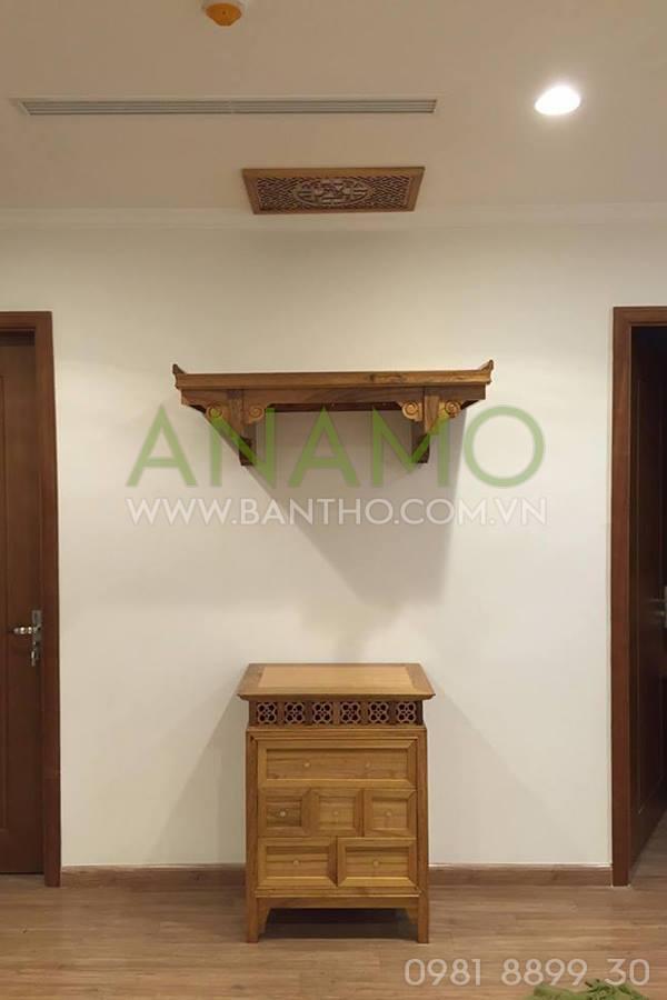 bàn thờ treo tường cho chung cư