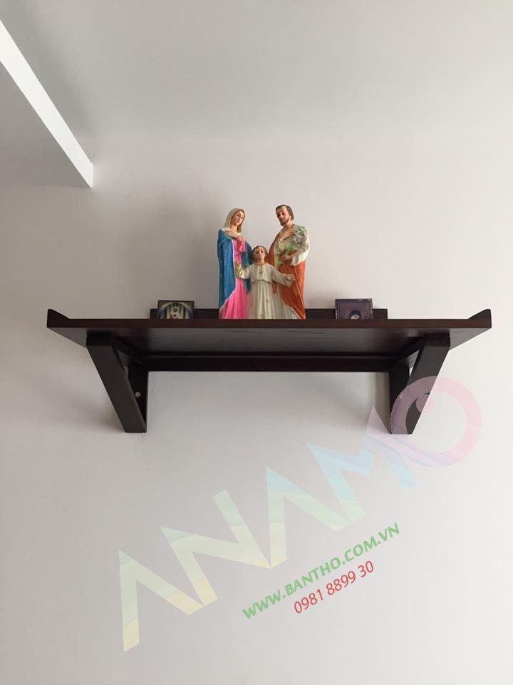 bàn thờ chúa treo tường nhà chung cư