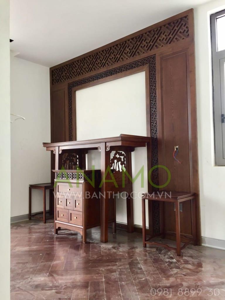 Thiết kế bàn thờ đẹp cho khách hàng