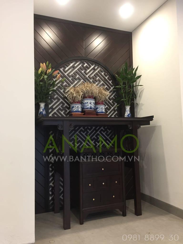 Bàn thờ Anamo với các đế chân chắc chắn, đảm bảo an toàn