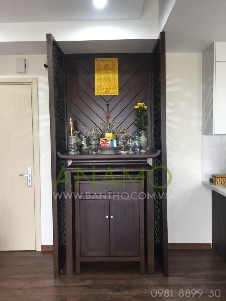 Sản phẩm tủ thờ phổ biến ở chung cư hiện nay