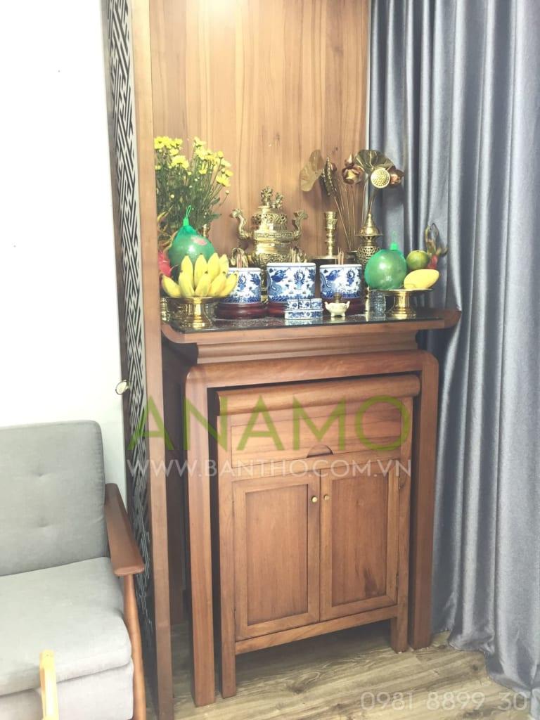bàn thờ gia tiên hiện đại cho chung cư