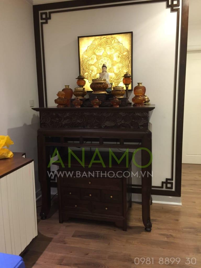 mẫu thiết kế bàn thờ hiện đại tại Anamo